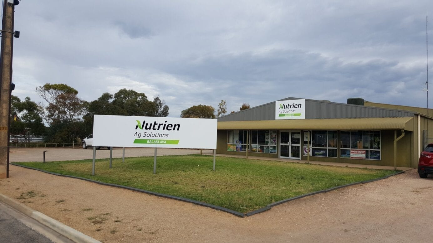 custom business signs on streetscape Adelaide
