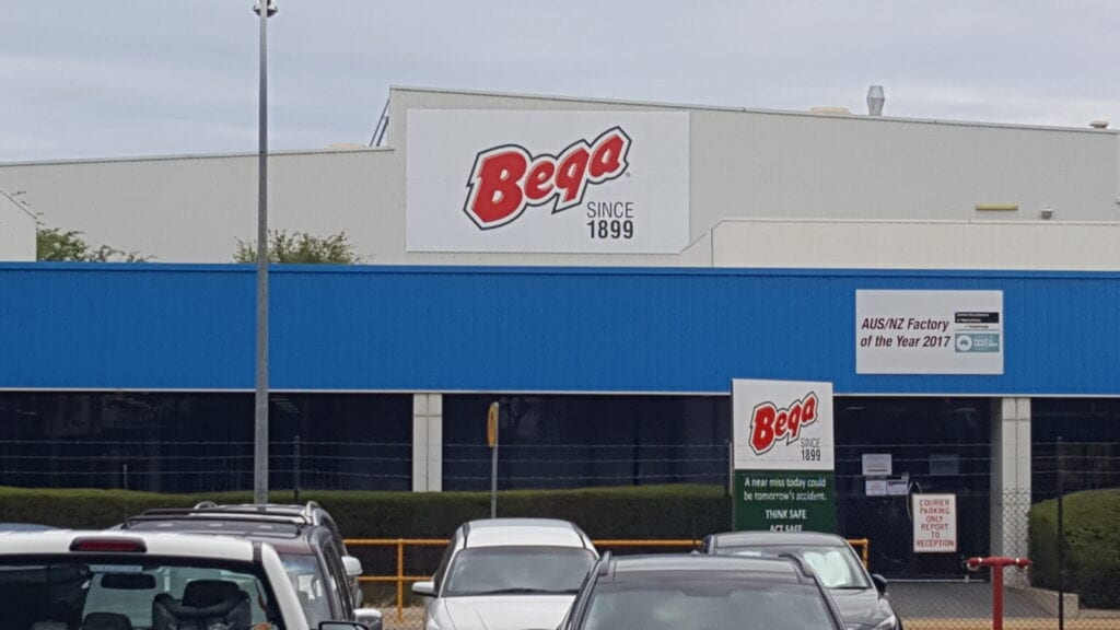 large custom printed metal company sign Adelaide