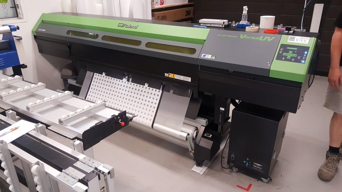 Roland VersaUV® LEJ-640 Hybrid UV-LED Flatbed Printer